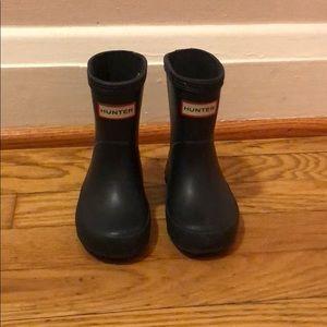 Hunter rain boots toddler size 4